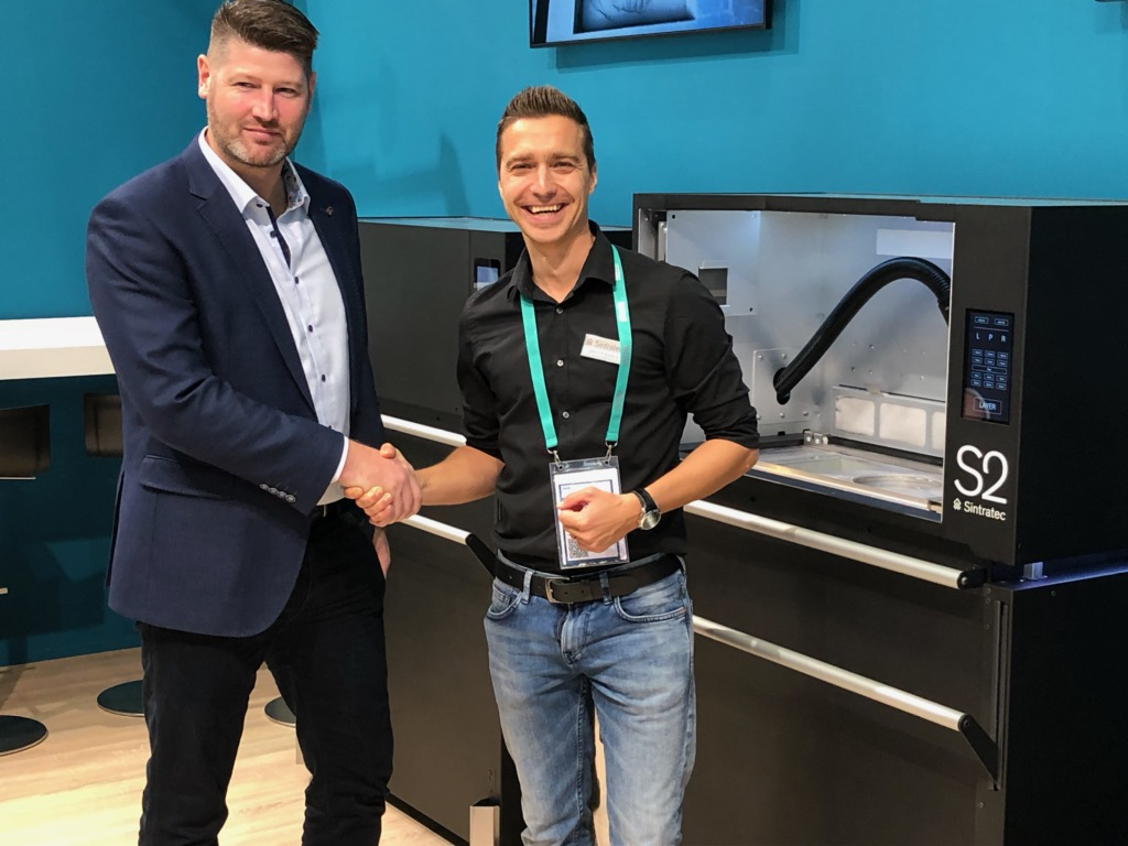 Stor interesse om Sintratec nye S2 SLS printer